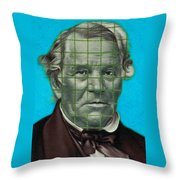 Squared Senator Detail Throw Pillow