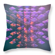 Squared2 Throw Pillow