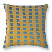 Squares In A Square Throw Pillow