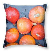 Squashes Throw Pillow