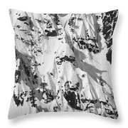 Squaw Valley Forbidden Fruit Throw Pillow