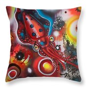 Squink Throw Pillow