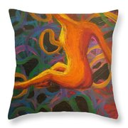 Squirm Truer Throw Pillow