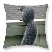 Squirrelart #2 Throw Pillow