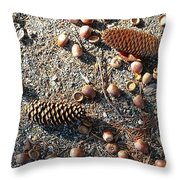 Squirrels Delight Throw Pillow