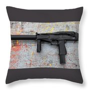 Sr-2mp Submachine Gun Throw Pillow