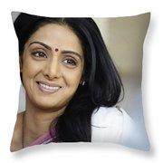 Sridevi Throw Pillow