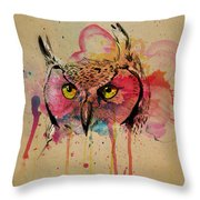 Srsly Who Throw Pillow by Kyle Willis