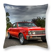 Ss 396 Chevelle Throw Pillow by Tim Wilson