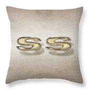 Super Sport Emblem Throw Pillow