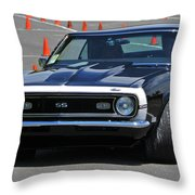Ss On Autocross Course Throw Pillow