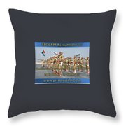 Ssc Capf Recruitment Throw Pillow