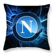 S.s.c Napoli Throw Pillow