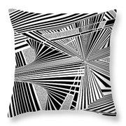 Ssenkcalbot Throw Pillow
