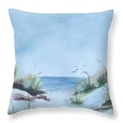 Ssi Beach Throw Pillow