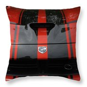 Sssss Throw Pillow