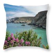 St Agnes Coast Throw Pillow