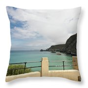 St Agnes To Holywell Throw Pillow