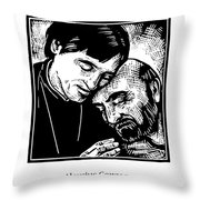 St. Aloysius Gonzaga - Jlalg Throw Pillow