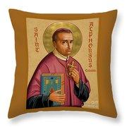 St. Alphonsus Liguori - Jcalp Throw Pillow