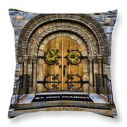 St Ann Church Throw Pillow