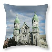St. Anne's Church Throw Pillow