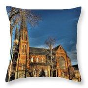 St. Annes Detroit Mi Throw Pillow