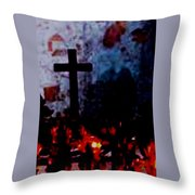 St. Anne's - France Throw Pillow