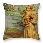 St Anthony Chapel Throw Pillow