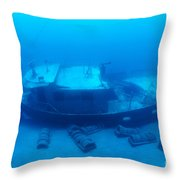 St. Anthony Wreck Throw Pillow