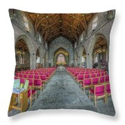 St Asaph Cathedral Throw Pillow