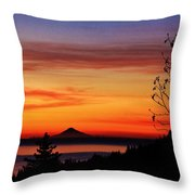 St Augustine At Sunset Throw Pillow