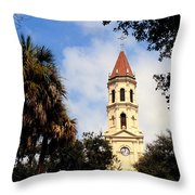St Augustine Cathedral Throw Pillow