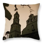 St. Augustine Chapel Throw Pillow
