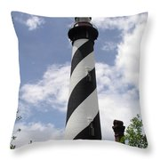 St Augustine Florida Light Throw Pillow