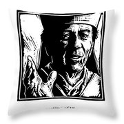 St. Augustine - Jlaug Throw Pillow