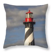 St. Augustine Lighthouse 11 Throw Pillow