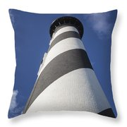 St. Augustine Lighthouse 203 Throw Pillow