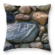 St. Augustine Stone Wall 2 090118 Throw Pillow