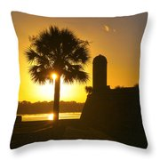 St. Augustine Summer Throw Pillow