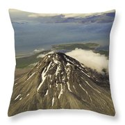 St. Augustine Volcano Throw Pillow