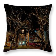 St. Augustinelights3 Throw Pillow by Kenneth Albin