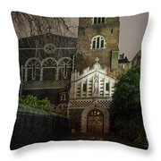 St Bartholomew The Great Church Throw Pillow