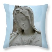 St Benedicts Painted Church 5 Throw Pillow