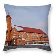 St Bernards Church Throw Pillow