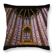 St Chapelle Paris Throw Pillow