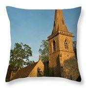 St Davids Church Throw Pillow