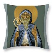 St. Declan Of Ardmore - Rldoa Throw Pillow