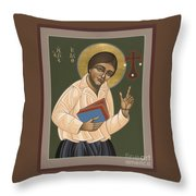 St Edith Stein Patroness Of Europe 182 Throw Pillow