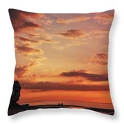 St Edmunds Point, Norfolk, England  Throw Pillow